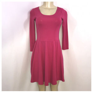 Divided By H&M Pink Skater Dress Size 2